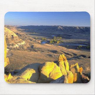Sandstone boulders, Alberta, Canada Mouse Pads