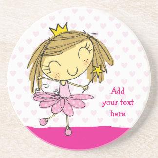 ♥ SANDSTONE COASTER ♥ Cute Pink Princess Ballet