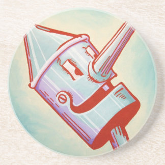 Sandstone Coaster - Tin Man