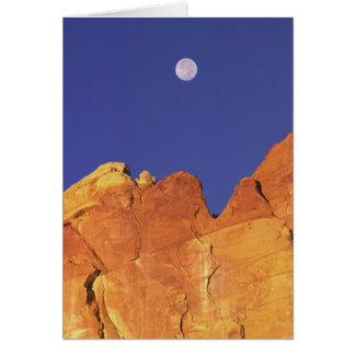 Sandstone escarpment Capitol Reef National Card