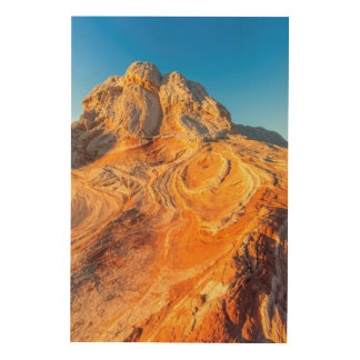 Sandstone Formations At The White Pocket 2 Wood Wall Decor