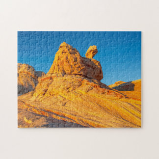 Sandstone Formations At The White Pocket 3 Puzzle