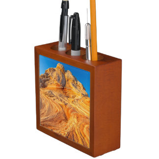 Sandstone Formations At The White Pocket Pencil Holder