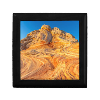 Sandstone Formations At The White Pocket Gift Box