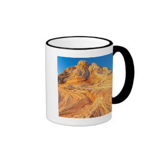 Sandstone Formations At The White Pocket Ringer Mug