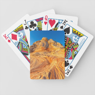 Sandstone Formations At The White Pocket Poker Deck