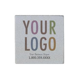 Sandstone Magnet Custom Business Logo Promotional