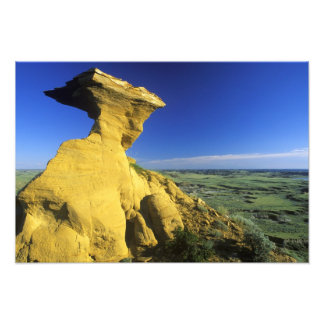 Sandstone Monument in the Hell Creek area near Photograph