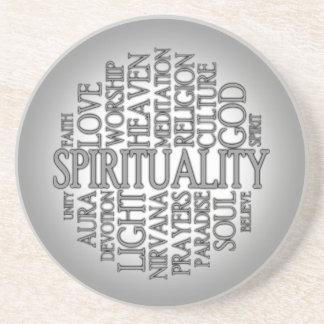 Sandstone Spirituality Coaster