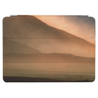 Sandstorm at Mesquite Sand Dunes, Sunset iPad Air Cover