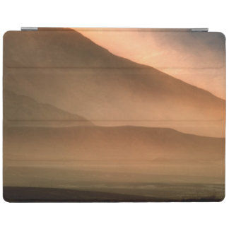 Sandstorm at Mesquite Sand Dunes, Sunset iPad Cover