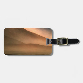 Sandstorm at Mesquite Sand Dunes, Sunset Luggage Tag