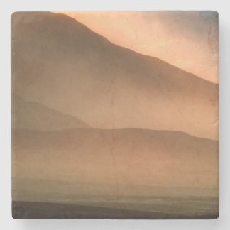 Sandstorm at Mesquite Sand Dunes, Sunset Stone Coaster