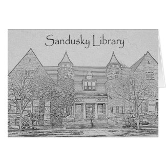 Sandusky Library -  Pencil, Longfellow Quote Greeting Card