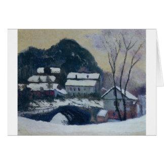 Sandviken, Norway by Claude Monet Card