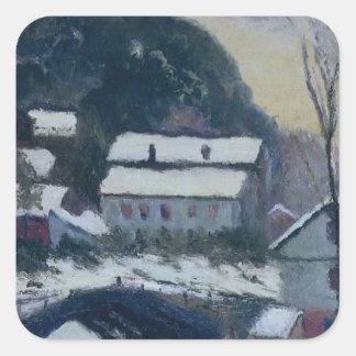 Sandviken, Norway by Claude Monet Square Sticker