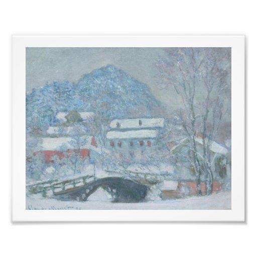 Sandviken Norway in the Snow Art Photo