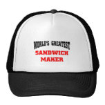 Sandwich maker mesh hats