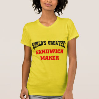 Sandwich maker t shirts