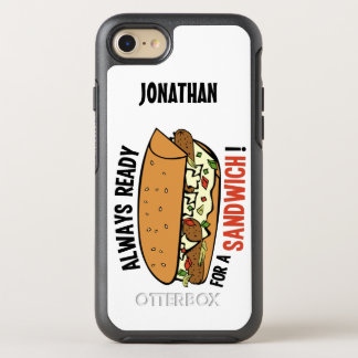 Sandwich name phone OtterBox symmetry iPhone 7 case