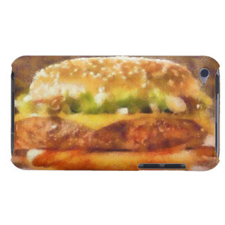 Sandwich painting iPod touch case
