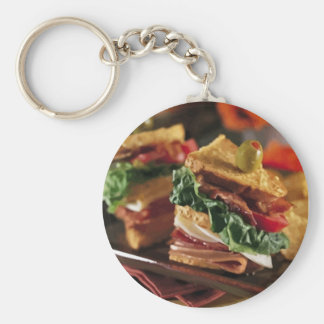 Sandwich Question Keychain