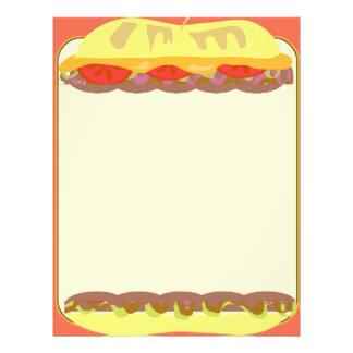 sandwich shop menu template - sandwich flyer templates sandwich promotional flyers
