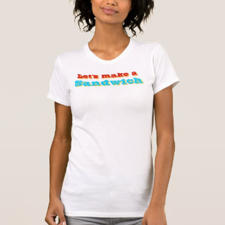 """Sandwich"" T-Shirt Womans"