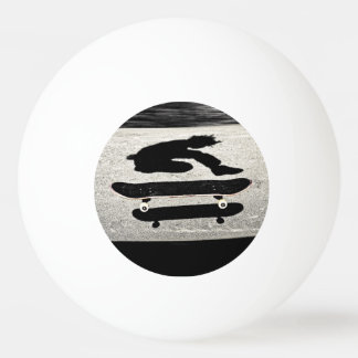 sandwiched skateboard ping pong ball