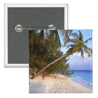 Sandy Beach 10 15 Cm Square Badge