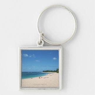 Sandy Beach 3 Key Ring