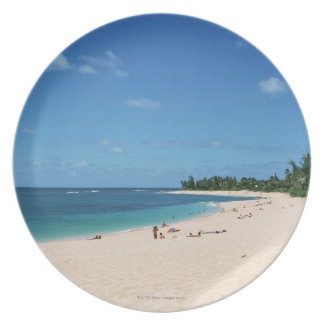 Sandy Beach 3 Plate
