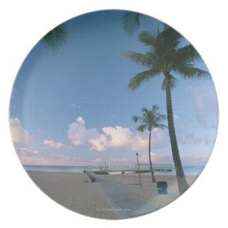 Sandy Beach 4 Plate