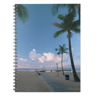 Sandy Beach 4 Spiral Notebook