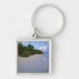 Sandy Beach 7 Key Ring