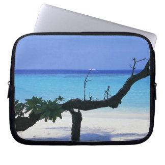 Sandy Beach 8 Laptop Sleeve