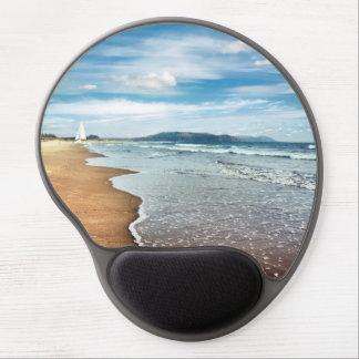 Sandy Beach Gel Mouse Pad