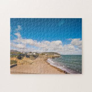 Sandy beach in Ireland Jigsaw Puzzle