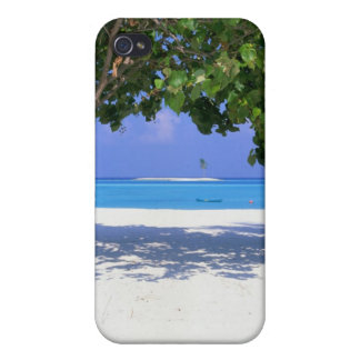 Sandy Beach iPhone 4 Cases