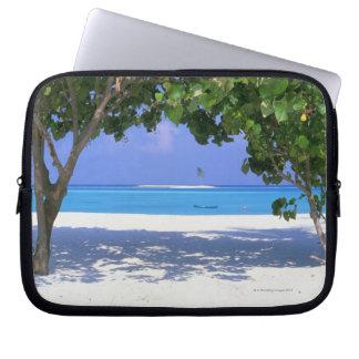 Sandy Beach Laptop Computer Sleeve