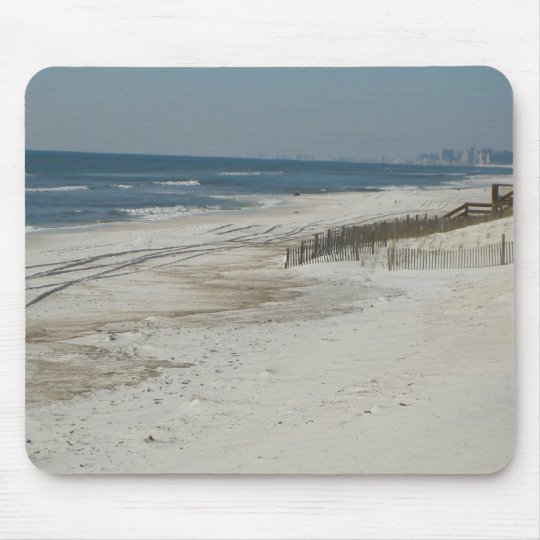 Sandy Beach Mouse Mat