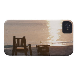 Sandy Beach of Sunset 2 iPhone 4 Case