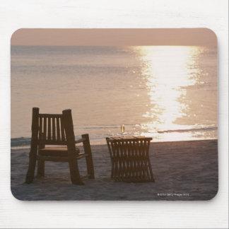 Sandy Beach of Sunset 2 Mouse Mat