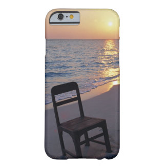 Sandy Beach of Sunset Barely There iPhone 6 Case