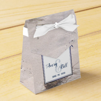 Sandy Beach Wedding Favors with Thank You Favour Box