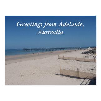 sandy beaches postcard