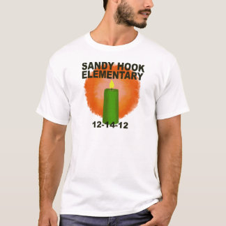 SANDY HOOK ELEMENTARY CANDLE T-Shirt