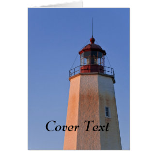 Sandy Hook II Lighthouse Greeting Card