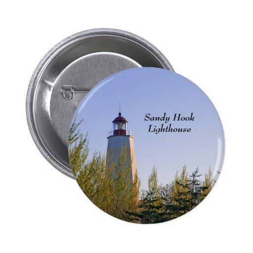 Sandy Hook III Lighthouse Pin