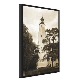 Sandy Hook Lighthouse Gallery Wrap Canvas